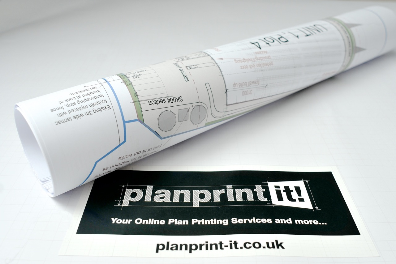 Planprint-it for large format colour or black and white prints and drawings