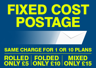 Fixed Cost Postage from £5